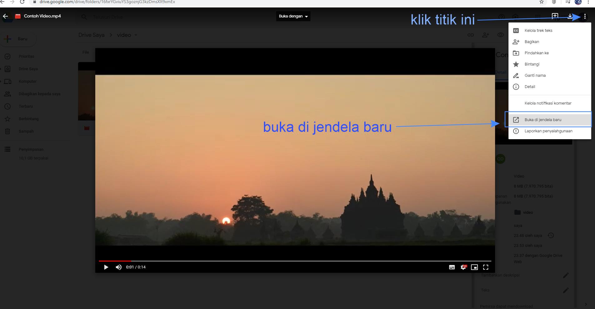 Cara Menambah Video Ke Elearning Dari Google Drive Knowledge Base